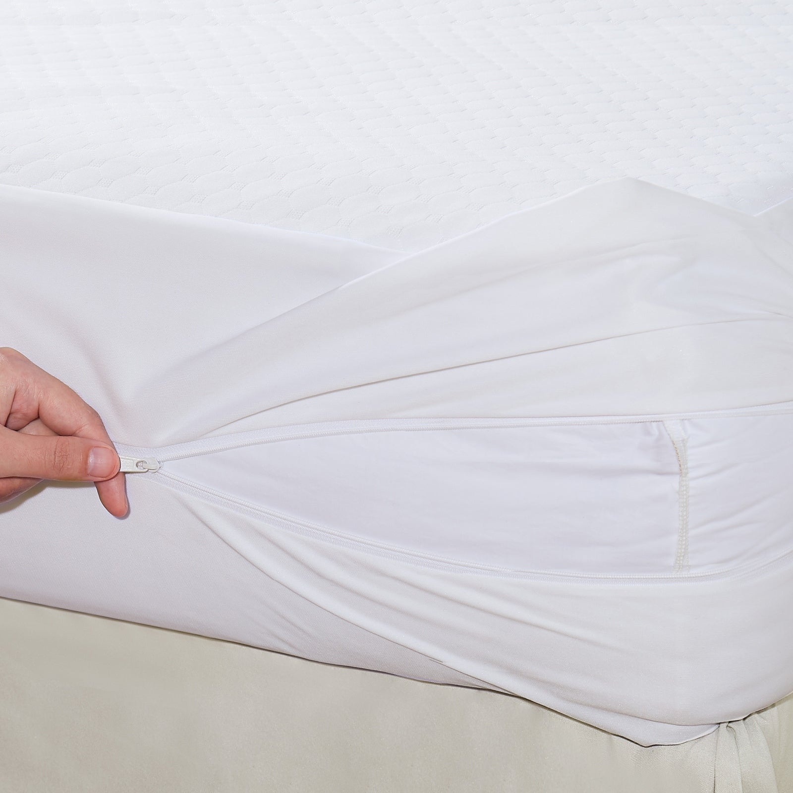 All-in-one mattress protector with Bed Bug Blocker Twin FREE SHIPPING