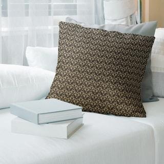 Ombre Classic Art Deco Throw Pillow