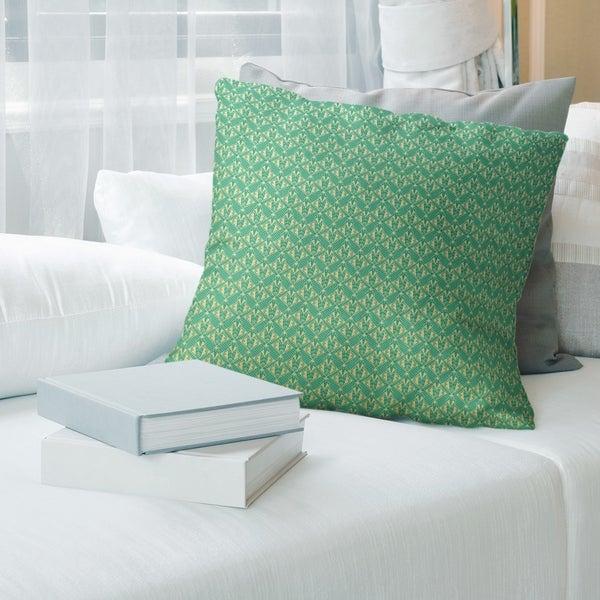 Classic Art Deco Throw Pillow