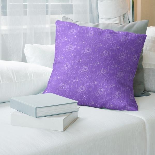 Astrology Pattern Throw Pillow