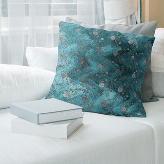Porch & Den Claxtar Planets and Stars Throw Pillow