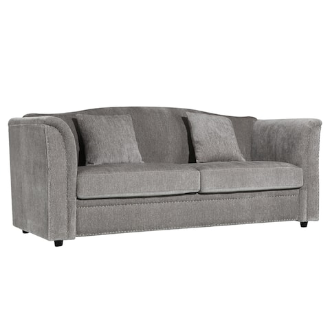 EdgeMod Bridgerton 3 seat Sofa in Grey