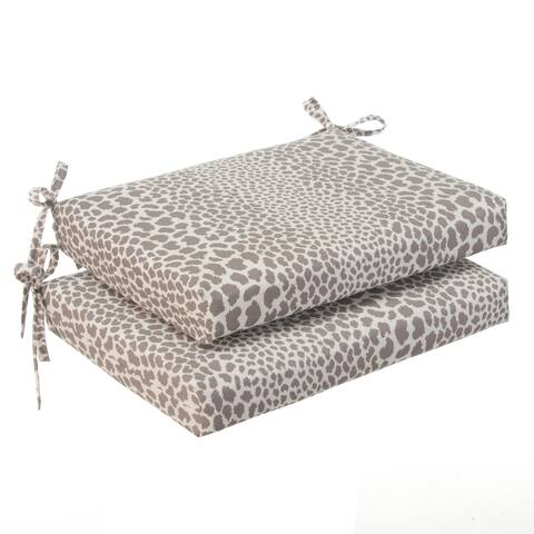 Glasgow Catwalk Oversized Seat Square Cushion (Set of 2) by Havenside Home