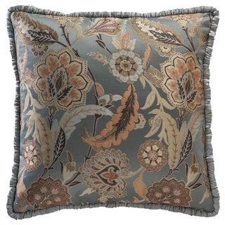 Portis Garden Floral Euro Pillow Cover