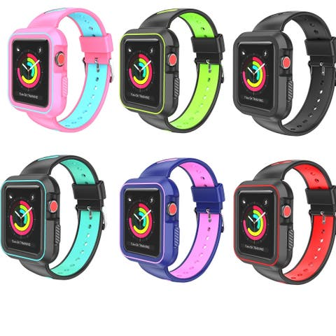 Luxury Two Tone Sports Band For Apple Watch 38mm