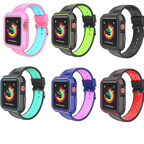Luxury Two Tone Sports Band For Apple Watch 42mm