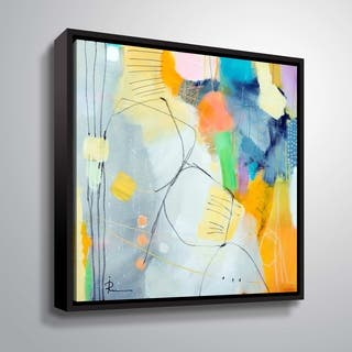 Untitled 706 Gallery Wrapped Floater-framed Canvas