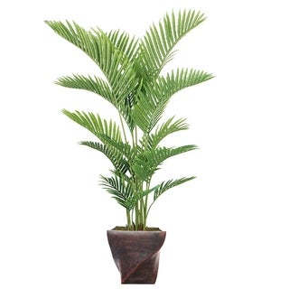 "72.5"" Real Touch Palm Tree in Fiberstone Planter"
