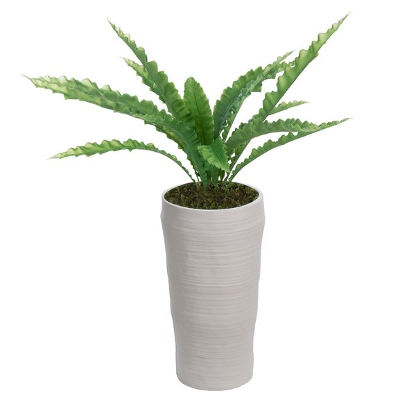 """53"""" Real Touch Agave in Fiberstone Planter"""