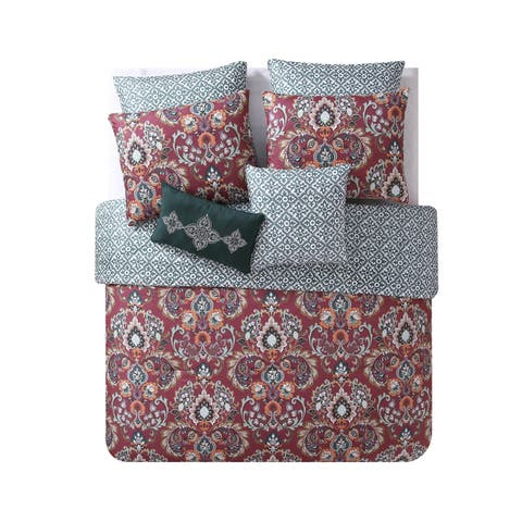 VCNY Home Janine Reversible Damask Comforter Set