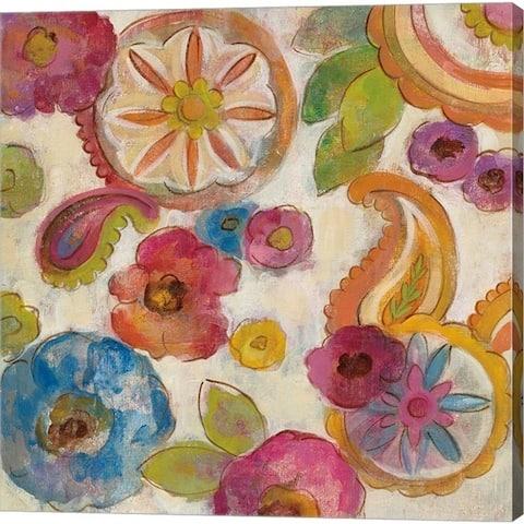 Silvia Vassileva 'Bohemian Summer II' Canvas Art