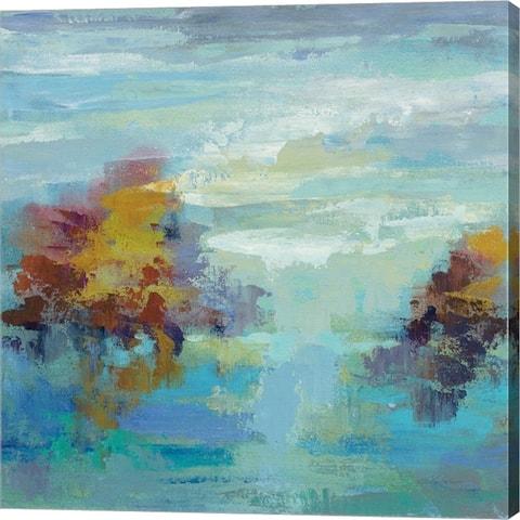 Silvia Vassileva 'Morning Mist I' Canvas Art