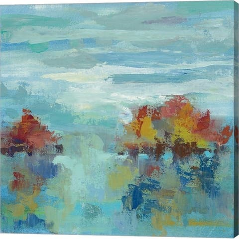 Silvia Vassileva 'Morning Mist II' Canvas Art