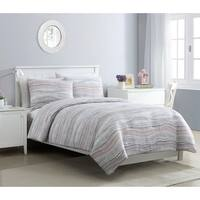 VCNY Home Marble Blush and Grey Comforter Set