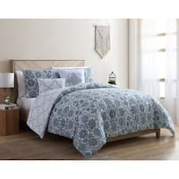 VCNY Home Agnes Reversible Floral Comforter Set