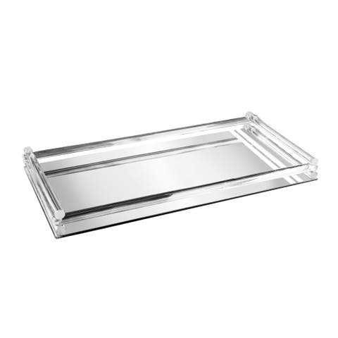 "mirror vanity tray 7x13.5"""
