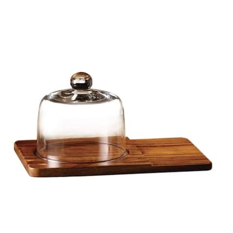madera cheese board w/bowl set 12x7.9x6.2""
