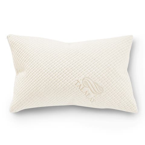 Pure Talalay Bliss Shapeable Medium Profile Pillow With Bamboo Cover
