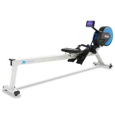 XTERRA Fitness ERG700 Rower - Black/Blue/Silver