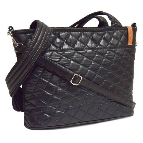 Jenna Bag Ebony Grid