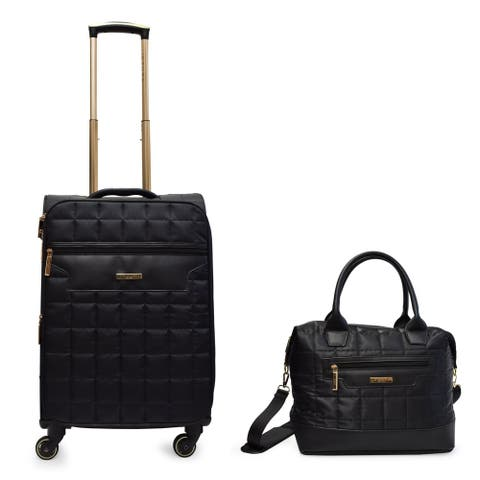 Tahari New York Chelsea Quilt Collection 2 and 4 pc Soft Sided Luggage Set
