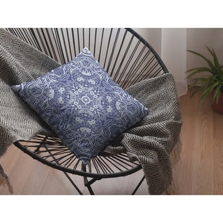 Tree of Life Geo Double Sided Decorative Pillow by Amrita Sen