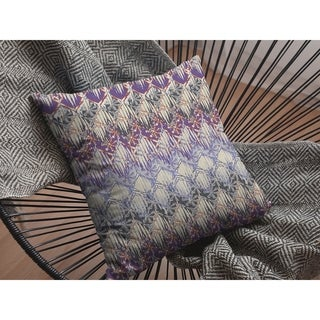 Tie Die Double Sided Decorative Pillow by Amrita Sen