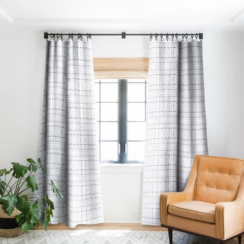 Carson Carrington Ljungbyhed Grey Blackout Curtain Panel (2 Size Options)