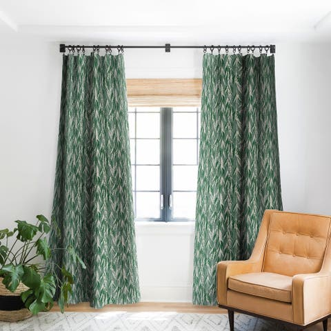 Deny Designs Vintage Palm Blackout Curtain Panel (2 Size Options)