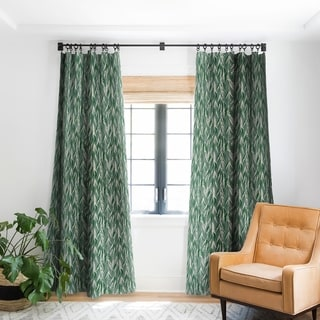 Link to Deny Designs Vintage Palm Blackout Curtain Panel (2 Size Options) Similar Items in Curtains & Drapes