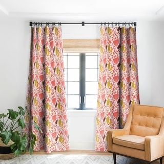 Link to Deny Designs Botanic Tulip Blackout Curtain Panel (2 Size Options) Similar Items in Window Treatments