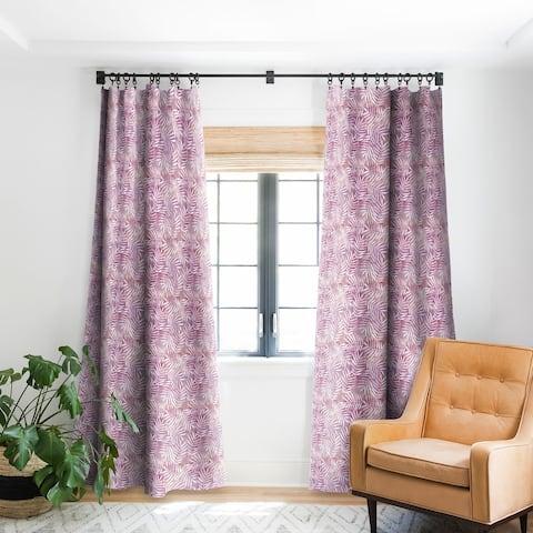 Deny Designs Goddess Palm Rose Blackout Curtain Panel (2 Size Options)