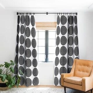 Deny DesignsMmandala Black Blackout Curtain Panel (2 Size Options)
