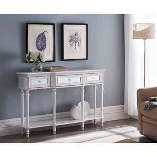 Copper Grove Kataba Grey Wash 3-drawer Console Table