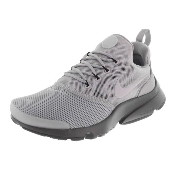 Nike Mens Roshe One SE Running Shoes Wolf Grey CAMOBlackWhite