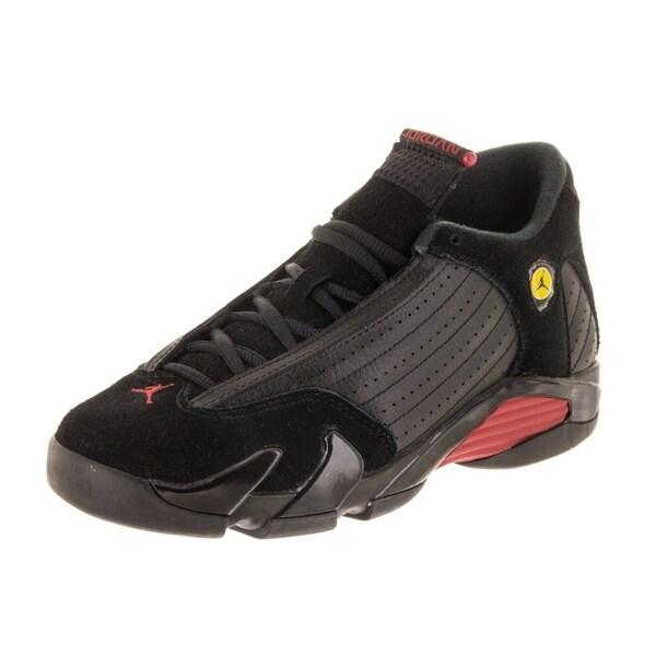 sports shoes 0feec 4e56b Shop Nike Jordan Kids Air Jordan 14 Retro BG Basketball Shoe ...