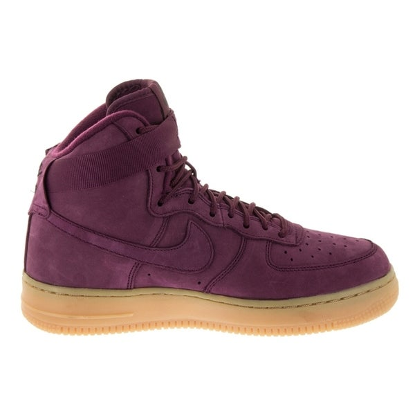 Nike Air Force 1 High Wb Casual Bordeauxgum Grade Scho