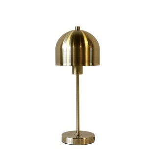 "Link to Metal 25"" Mushroom Table Lamp,Gold Similar Items in Table Lamps"