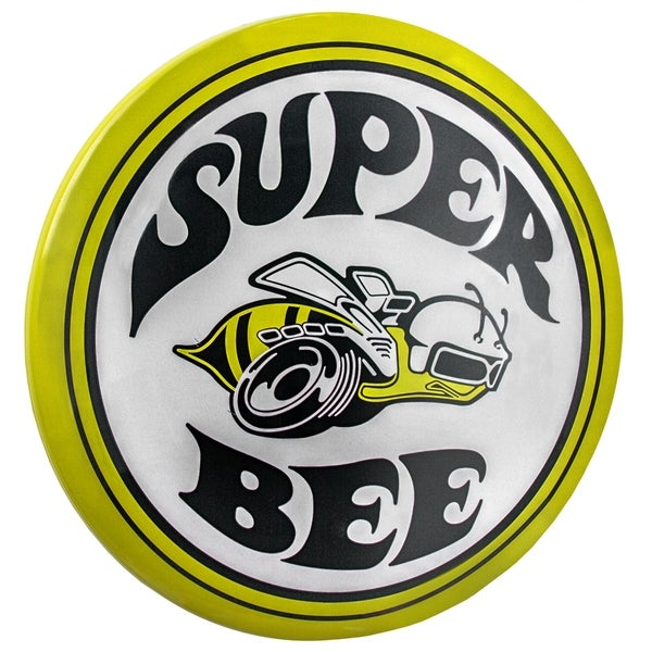 """Officially Licensed Dodge Super Bee Hanging Metal Sign Wall Decor for Bar, Garage or Man Cave (15"""")"""