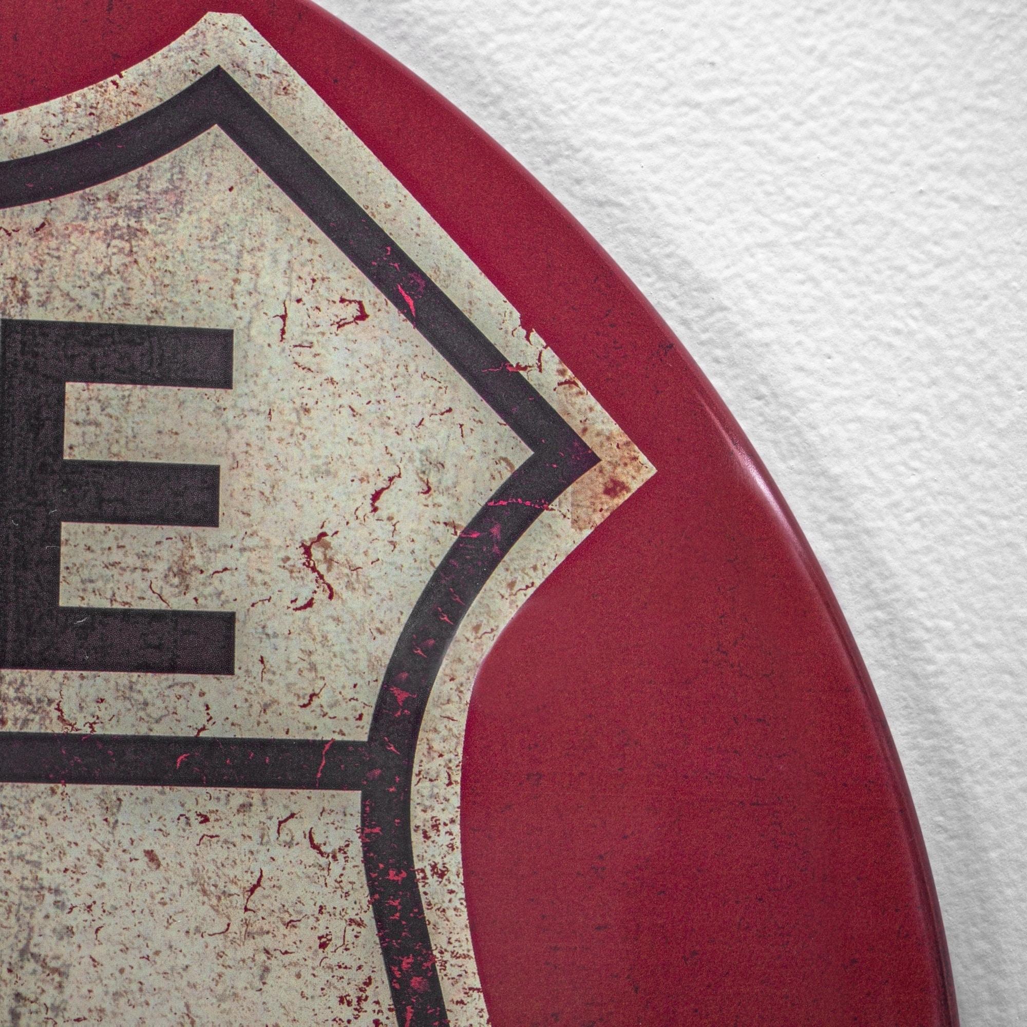 ARIZONA Route 66 Shield Metal Sign Man Cave Garage 211110014028 OATMAN