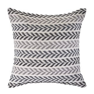 LR Home Hint of Grayscale Throw Pillow 18 Inch