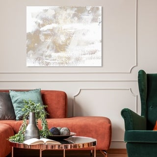 Link to Oliver Gal 'Porcelain' Abstract Wall Art Canvas Print - White, Gold Similar Items in Canvas Art