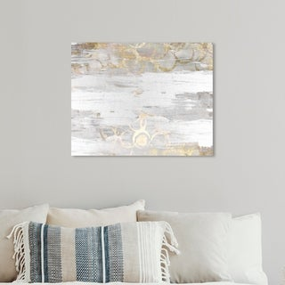 Link to Oliver Gal 'Elegance' Abstract Wall Art Canvas Print - Gray, White Similar Items in Canvas Art