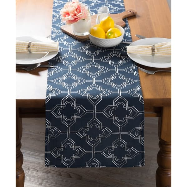 Dii Embroidered Table Runner On Sale Overstock 28370183