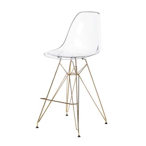 Fabulous Buy Acrylic Counter Bar Stools Online At Overstock Our Inzonedesignstudio Interior Chair Design Inzonedesignstudiocom