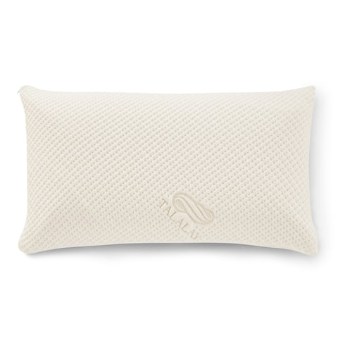 Pure Talalay Bliss Low Profile Soft Pillow With Bamboo Cover