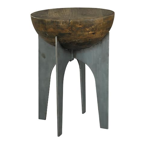 Half Sphere Solid Wood Accent Table - Hekman