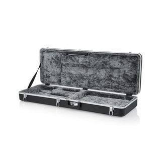 Gator Deluxe ABS Molded Hardshell Case for Electric Guitars w/ Interior LED Lighting