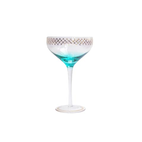 Style Setter Soiree Champagne Coupe Glasses Set of 2