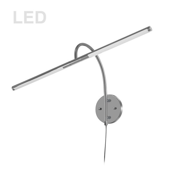 10W Picture Light Satin Chrome. Opens flyout.